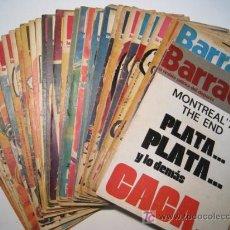 Collectionnisme sportif: BARRABAS - REVISTA SATIRICA DEL DEPORTE - 1973 - LOTE 38 NUMS.. Lote 19842169
