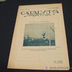 Coleccionismo deportivo: CATALUNYA SPORTIVA - ANY IV - NUM. 158 - 24 DESEMBRE 1919. Lote 205289892