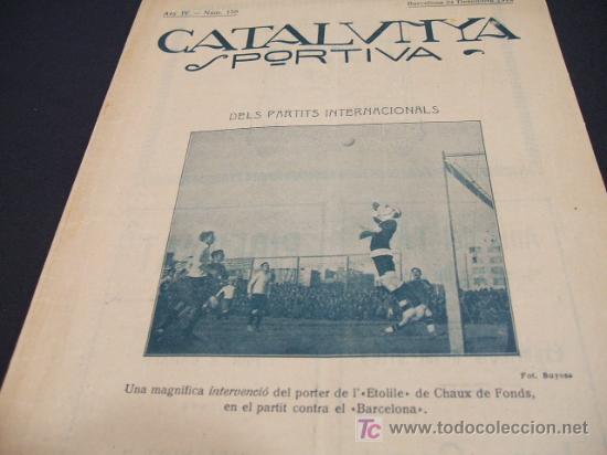 Coleccionismo deportivo: CATALUNYA SPORTIVA - ANY IV - NUM. 158 - 24 DESEMBRE 1919 - Foto 2 - 205289892