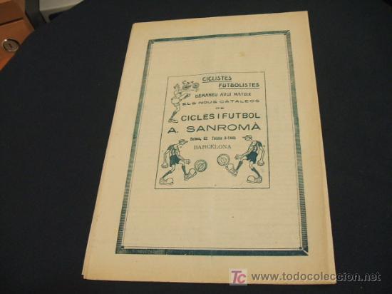 Coleccionismo deportivo: CATALUNYA SPORTIVA - ANY IV - NUM. 158 - 24 DESEMBRE 1919 - Foto 3 - 205289892