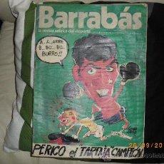 Coleccionismo deportivo: BARRABAS Nº104 SEPTIEMBRE 1974 PERICO. Lote 25213004