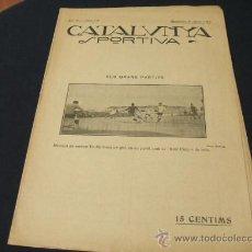 Coleccionismo deportivo: CATALUNYA SPORTIVA - AÑO IV - Nº 138 - 6 AGOSTO 1919. Lote 22808480