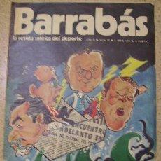 Coleccionismo deportivo: REVISTA BARRABAS - REVISTA SATIRICA DEL DEPORTE N 27. Lote 23747094