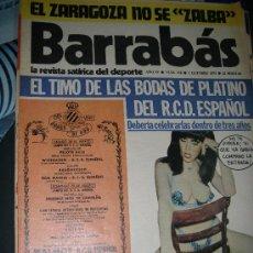 Coleccionismo deportivo: BARRABAS - RCD ESPAÑOL - BODAS DE ORO-. Lote 27551790