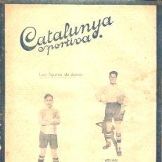 Collectionnisme sportif: REVISTA CATALUNYA DEPORTIVA 13 JULIO 1920. Lote 26239048