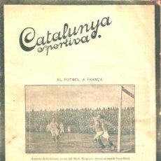Collectionnisme sportif: REVISTA CATALUNYA DEPORTIVA 6 JULIO 1920. Lote 26239072
