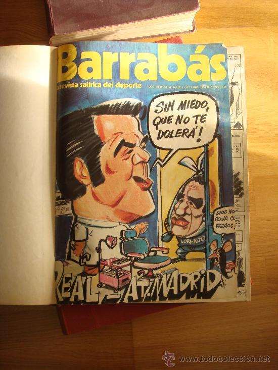 ¡¡¡ COLECCIÓN REVISTAS SATÍRICAS BARRABÁS DE 1974 A 1976 - 105/175 !!! (Coleccionismo Deportivo - Revistas y Periódicos - Barrabás)