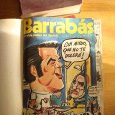 Coleccionismo deportivo: ¡¡¡ COLECCIÓN REVISTAS SATÍRICAS BARRABÁS DE 1974 A 1976 - 105/175 !!!. Lote 30323225