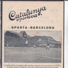 Collectionnisme sportif: REVISTA CATALUNYA SPORTIVA Nº 262 28-12-1921. Lote 30535161