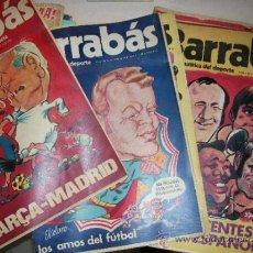 Coleccionismo deportivo: BARRABAS. LOS DIECIOCHO PRIMEROS NUMEROS (1 AL 18) EN . LOS MAS INTERESANTES. Lote 31383445