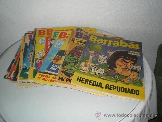 GRAN LOTE DE REVISTAS BARRABAS (Coleccionismo Deportivo - Revistas y Periódicos - Barrabás)