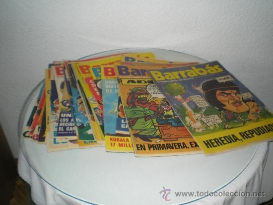 Coleccionismo deportivo: GRAN LOTE DE REVISTAS BARRABAS - Foto 3 - 31396701