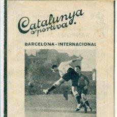 Collectionnisme sportif: REVISTA CATALUNYA ESPORTIVA 17 ENERO 1922 Nº 265. Lote 32227027