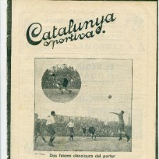 Collectionnisme sportif: REVISTA CATALUNYA ESPORTIVA Nº254 1 NOVIEMBRE 1921. Lote 32227368