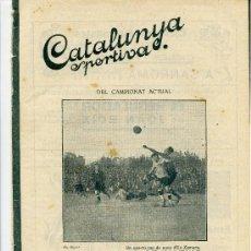 Collectionnisme sportif: REVISTA CATALUNYA ESPORTIVA Nº253 25 OCTUBRE 1921. Lote 32227383