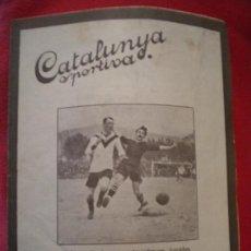 Coleccionismo deportivo: CATALUNYA SPORTIVA , 20-9-1921 SAMITIER.. Lote 34526920