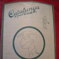 Collectionnisme sportif: CATALUNYA SPORTIVA ,SAMITIER DEL FUTBOL CLUB BARCELONA 3-3-1920.. Lote 34527030