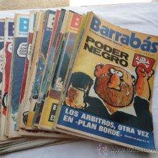 Coleccionismo deportivo: 52 EJEMPLARES DE LA REVISTA - BARRABÁS-. AÑO 1973.. Lote 37399322