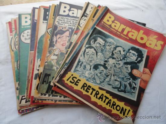 53 EJEMPLARES DE LA REVISTA - BARRABÁS-. AÑO 1974. (Coleccionismo Deportivo - Revistas y Periódicos - Barrabás)