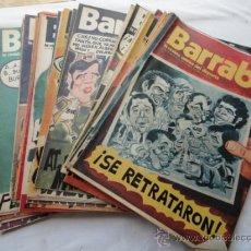 Coleccionismo deportivo: 53 EJEMPLARES DE LA REVISTA - BARRABÁS-. AÑO 1974.. Lote 37399670