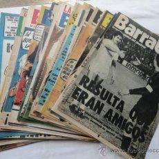 Coleccionismo deportivo: 52 EJEMPLARES DE LA REVISTA - BARRABÁS-. AÑO 1975.. Lote 37399727