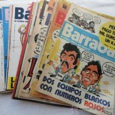 Coleccionismo deportivo: 50 EJEMPLARES DE LA REVISTA - BARRABÁS-. AÑO 1976.. Lote 37399795