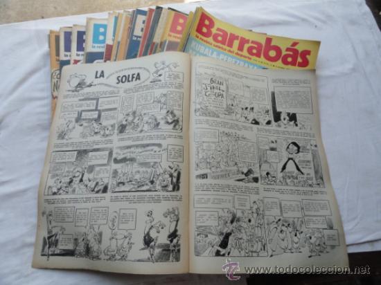 Coleccionismo deportivo: 52 EJEMPLARES DE LA REVISTA - BARRABÁS-. AÑO 1973. - Foto 2 - 37399322