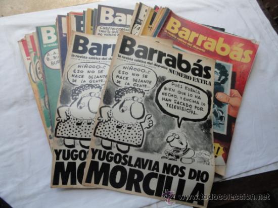 Coleccionismo deportivo: 53 EJEMPLARES DE LA REVISTA - BARRABÁS-. AÑO 1974. - Foto 2 - 37399670