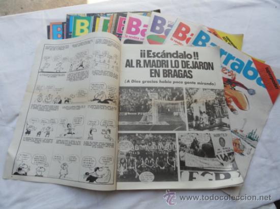 Coleccionismo deportivo: 20 EJEMPLARES DE LA REVISTA - BARRABÁS-. AÑO 1977. - Foto 2 - 37399837