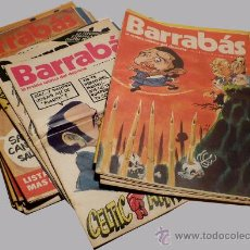 Collectionnisme sportif: BARRABAS REVISTA SATIRICA DEPORTIVA AÑOS 70. Lote 37439839