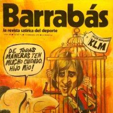 Coleccionismo deportivo: BARRABÁS-LA REVISTA SATÍRICA DEL DEPORTE-AÑO 2-NÚM.71-5.02.74-CON LOS MEJORES OSCAR, IVÁ,GIN.JÁ..... Lote 40418507