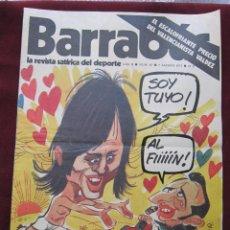 Coleccionismo deportivo: BARRABÁS. LA REVISTA SATÍRICA DEL DEPORTE Nº 45. 7 DE AGOSTO DE 1973. POSTER CENTRAL DE LA LEONA. Lote 43129111