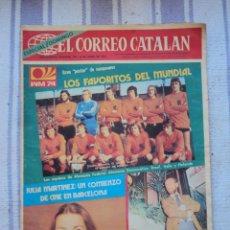Coleccionismo deportivo: ALEMANIA 74. EL CORREO CATALAN 16 - 6 - 1974. Lote 43219033