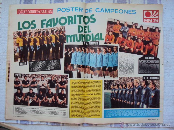 Coleccionismo deportivo: Alemania 74. El Correo Catalan 16 - 6 - 1974 - Foto 2 - 43219033