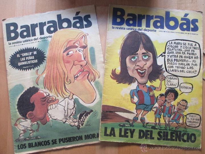 Coleccionismo deportivo: LOTE 66 REVISTAS BARRABAS, AÑOS 70, REVISTA DEPORTIVA, DEPORTES, FUTBOL, - Foto 6 - 43541372