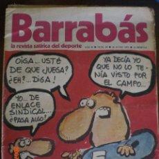 Collectionnisme sportif: BARRABAS Nº39 - LA CARA Y LA CRUZ DE LA SINDICACION EN EL FUTBOL. Lote 43743205
