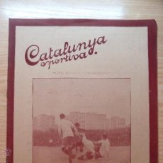 Collectionnisme sportif: REVISTA FUTBOL CATALUNYA SPORTIVA Nº 225 12 ABRIL 1921 PORTADA CIVIL SERVICE BARCELONA. Lote 43819002