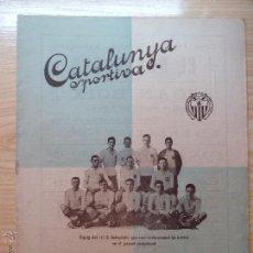 Collectionnisme sportif: REVISTA FUTBOL CATALUNYA SPORTIVA Nº 183 15 DE JUNY 1920 REPORTAJE Y FOTOGRAFIAS C.S SABADELL. Lote 43824218