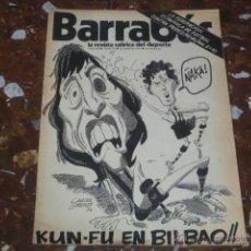 Coleccionismo deportivo: REVISTA SATÍRICA DEL DEPORTE BARRABÁS Nº 78 - AÑO III 1974 - INCLUYE POSTER CENTRAL. Lote 44361371