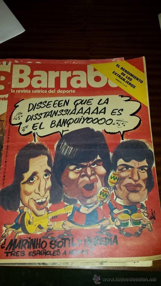 BARRABÁS Nº 110 (AÑO 1974) - BUEN ESTADO (Coleccionismo Deportivo - Revistas y Periódicos - Barrabás)