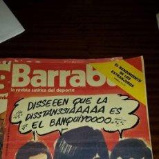 Coleccionismo deportivo: BARRABÁS Nº 110 (AÑO 1974) - BUEN ESTADO. Lote 46037522