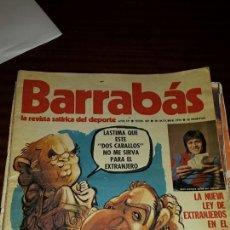 Coleccionismo deportivo: BARRABÁS Nº 161 (AÑO 1975) - BUEN ESTADO. Lote 46037553