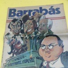 Coleccionismo deportivo: BARRABAS AÑO IV NÚMERO 129 CON POSTER CENTRAL ELF EDITORES 1975. Lote 47698397