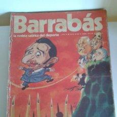 Coleccionismo deportivo: BARRABÁS, LA REVISTA SATÍRICA DEL DEPORTE. COLECCIÓN 26 NÚMEROS. DEL NUM. 28 AL NUM. 54. AÑO 1973.. Lote 48713886