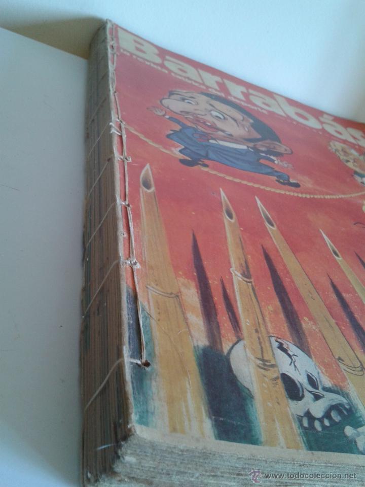 Coleccionismo deportivo: Barrabás, la revista satírica del deporte. Colección 26 números. Del num. 28 al num. 54. Año 1973. - Foto 2 - 48713886