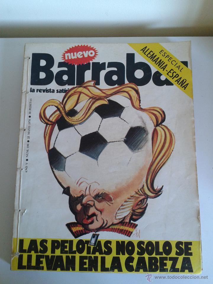 BARRABÁS, LA REVISTA SATÍRICA DEL DEPORTE. COLECCIÓN 20 NÚMEROS. DEL NUM. 190 AL NUM. 210. AÑO 1976 (Coleccionismo Deportivo - Revistas y Periódicos - Barrabás)