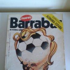 Coleccionismo deportivo: BARRABÁS, LA REVISTA SATÍRICA DEL DEPORTE. COLECCIÓN 20 NÚMEROS. DEL NUM. 190 AL NUM. 210. AÑO 1976. Lote 48715112