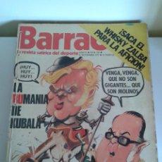 Coleccionismo deportivo: BARRABÁS, LA REVISTA SATÍRICA DEL DEPORTE. COLECCIÓN 26 NÚMEROS. DEL NUM. 163 AL 189. AÑO 1975-76. Lote 48715532