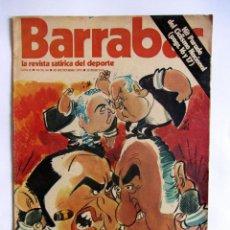Coleccionismo deportivo: REVISTA BARRABAS 64, 18 DICIEMBRE 1973. OTRO DUELO MADRID-BARCELONA BARÇA. Lote 49195553