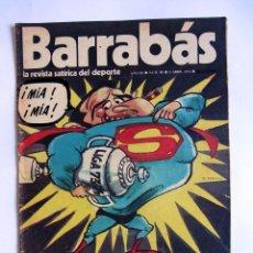 Coleccionismo deportivo: REVISTA BARRABAS 80, 9 ABRIL 1974. SUPER BARÇA CAMPEÓN. LIGA 1973-1974. Lote 49195689